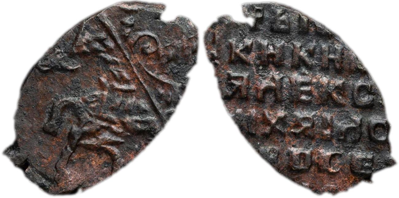 1 Копейка 1655 год. МД (Новый двор)